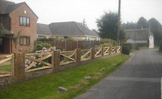Wooden Fencing